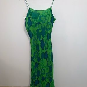 Ice 8 100% silk dress